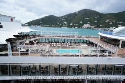 Pool deck of Silversea Silver Spirit docked at Tortola.jpg