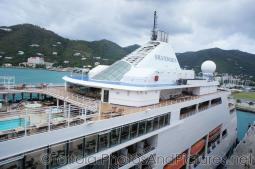 Chimney area of Silversea Silver Spirit docked at Tortola.jpg